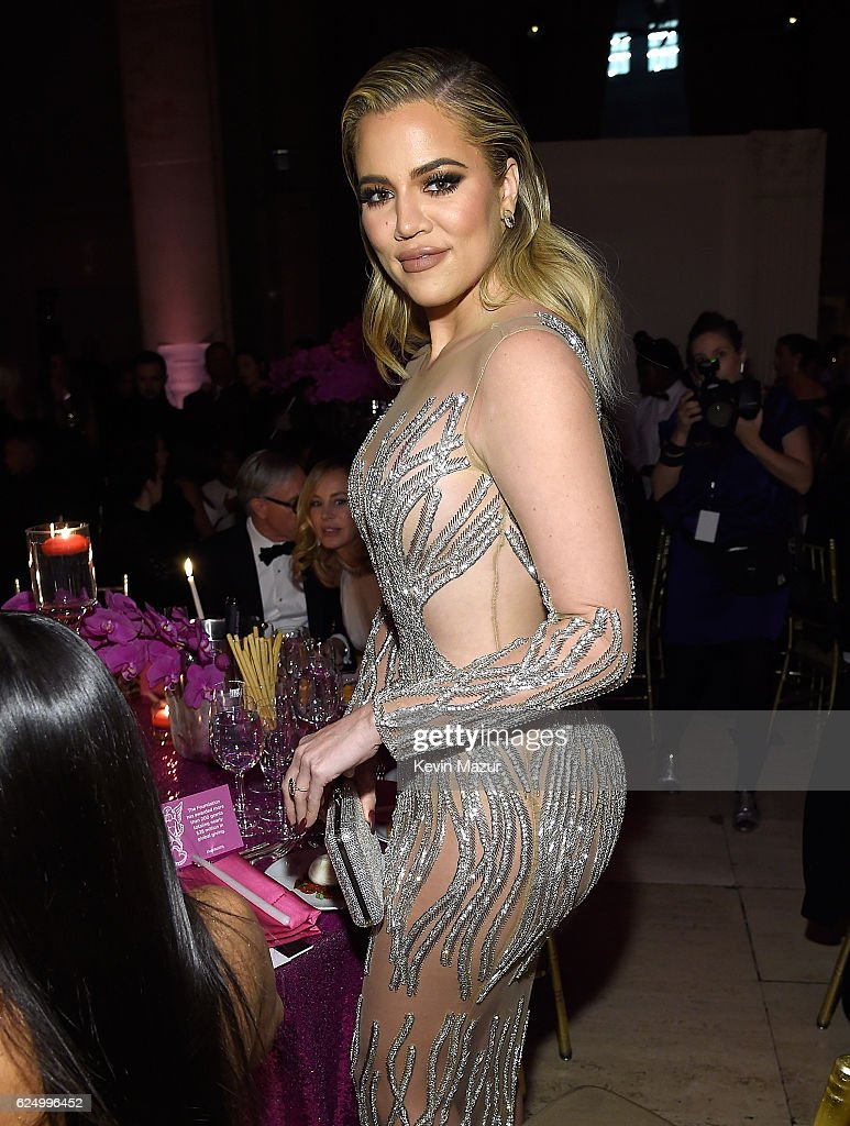 Khloe Kardashian attends 2016 Angel Ball hosted by Gabrielle's Angel Foundation For Cancer Research on November 21, 2016 in New York City.