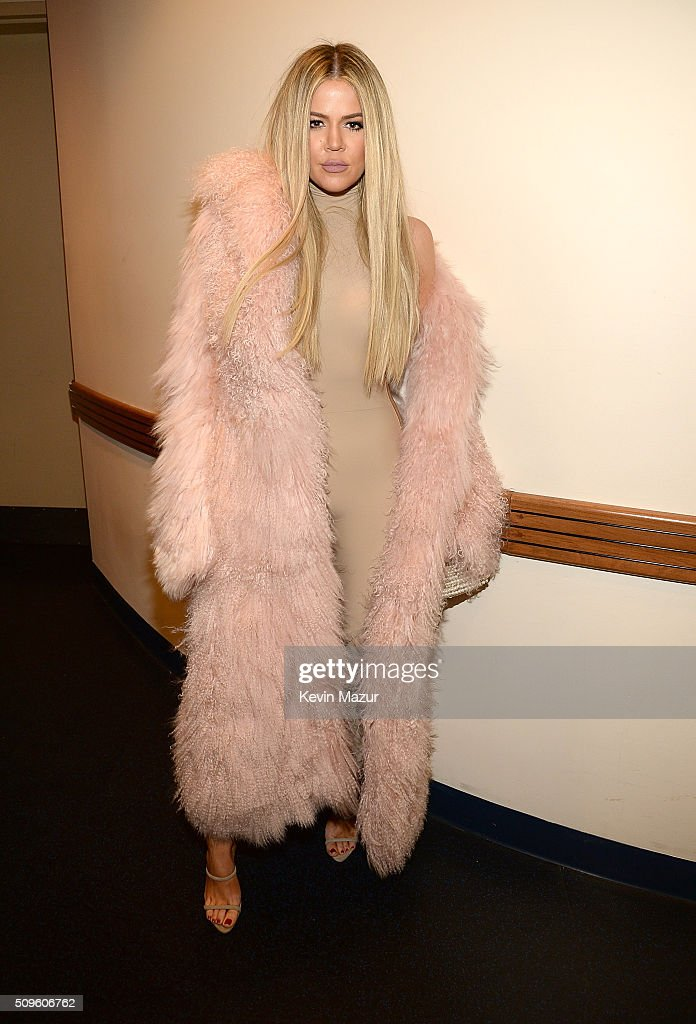 <a gi-track='captionPersonalityLinkClicked' href=/galleries/search?phrase=Khloe+Kardashian&family=editorial&specificpeople=3955023 ng-click='$event.stopPropagation()'>Khloe Kardashian</a> attends Kanye West Yeezy Season 3 at Madison Square Garden on February 11, 2016 in New York City.
