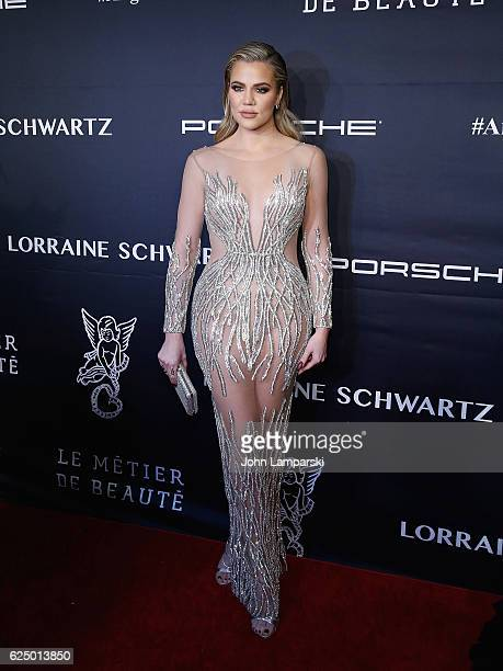 Khloe Kardashian attends the 2016 Angel Ball at Cipriani Wall Street on November 21 2016 in New York City