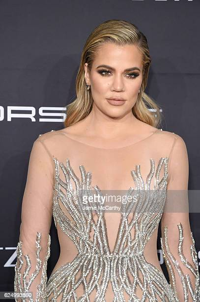 Khloe Kardashian attends the 2016 Angel Ball hosted by Gabrielle's Angel Foundation For Cancer Research on November 21 2016 in New York City