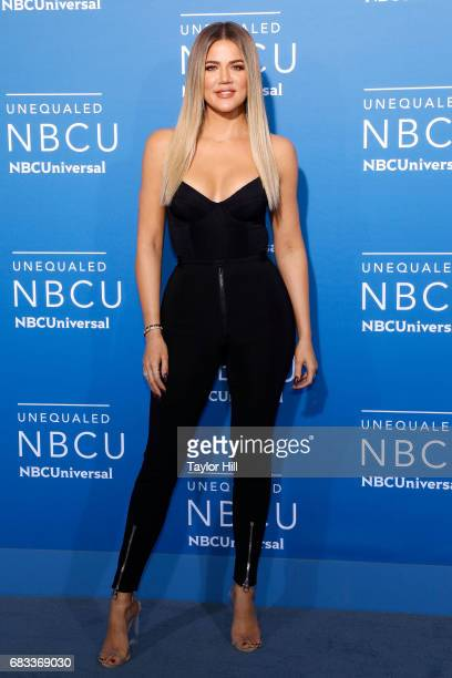 Khloe Kardashian attends the 2017 NBCUniversal Upfront at Radio City Music Hall on May 15 2017 in New York City