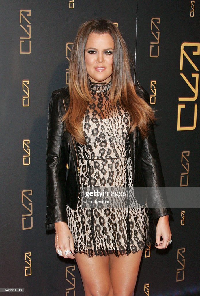 Khloe Kardashian attends the grand opening of RYU on April 23, 2012 in New York City.