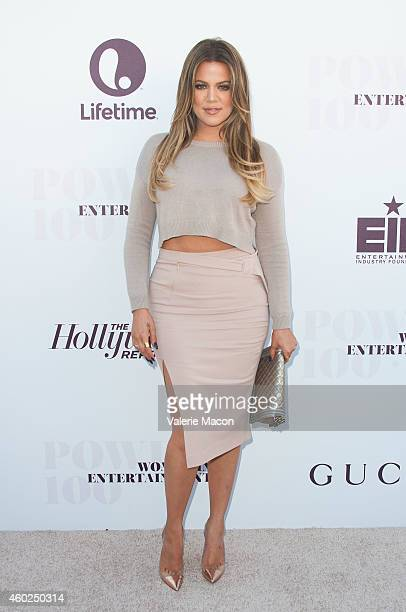 Khloe Kardashian attends The Hollywood Reporter's 23rd Annual Women In Entertainment Breakfast at Milk Studios on December 10 2014 in Los Angeles...
