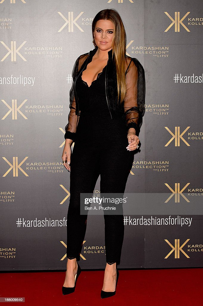 <a gi-track='captionPersonalityLinkClicked' href=/galleries/search?phrase=Khloe+Kardashian&family=editorial&specificpeople=3955023 ng-click='$event.stopPropagation()'>Khloe Kardashian</a> attends the launch party for the Kardashian Kollection for Lipsy at Natural History Museum on November 14, 2013 in London, England.