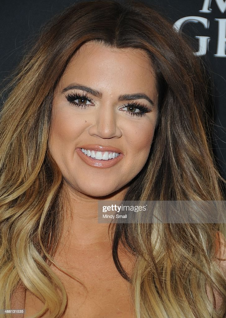 Khloe Kardashian attends the Mayweather Vs. Maidana Pre-Fight Party Presented By Showtime at MGM Garden Arena on May 3, 2014 in Las Vegas, Nevada.