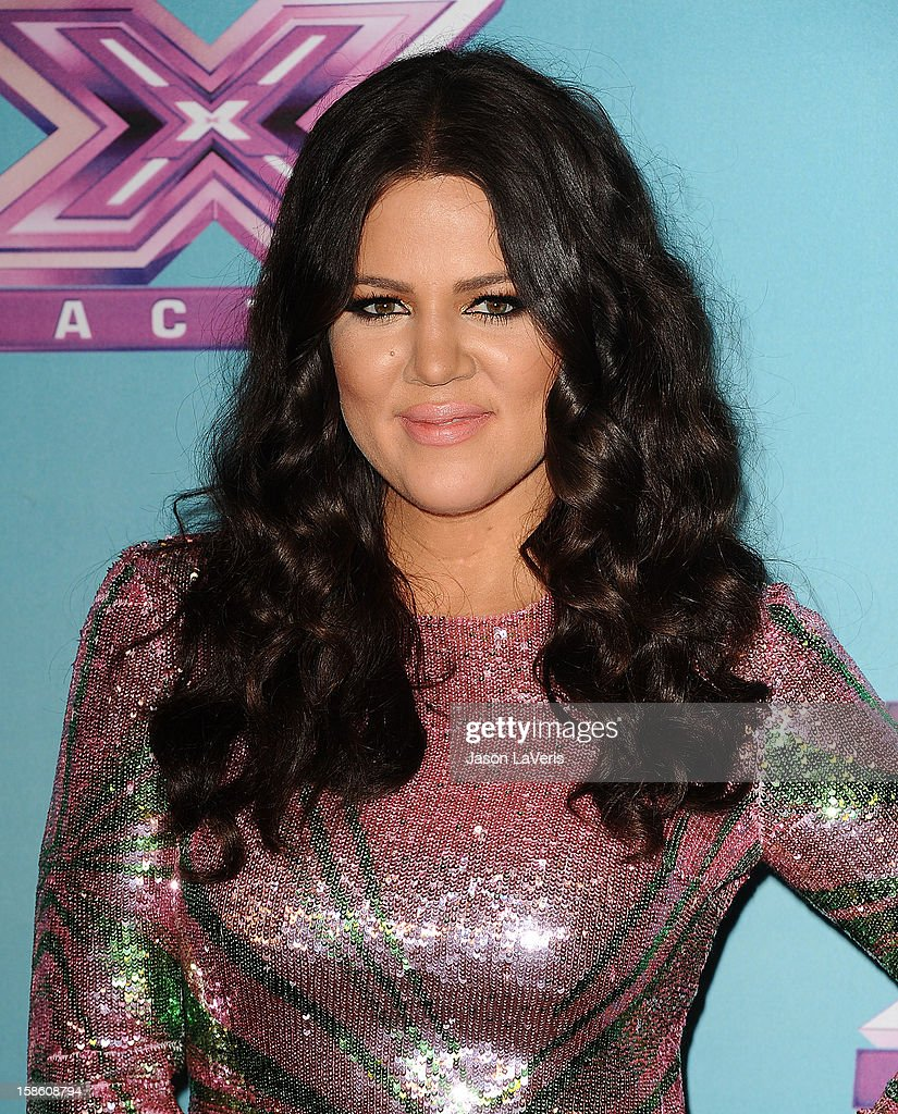 <a gi-track='captionPersonalityLinkClicked' href=/galleries/search?phrase=Khloe+Kardashian&family=editorial&specificpeople=3955023 ng-click='$event.stopPropagation()'>Khloe Kardashian</a> attends the season finale of Fox's 'The X Factor' at CBS Television City on December 20, 2012 in Los Angeles, California.