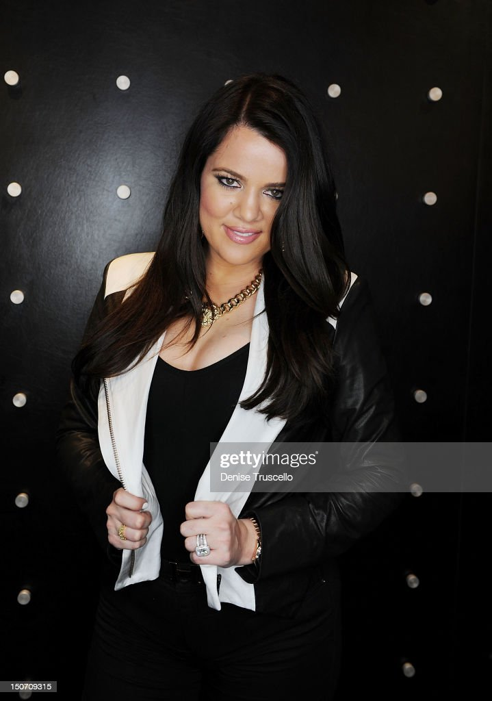 <a gi-track='captionPersonalityLinkClicked' href=/galleries/search?phrase=Khloe+Kardashian&family=editorial&specificpeople=3955023 ng-click='$event.stopPropagation()'>Khloe Kardashian</a> during her special appearance at Kardashian Khaos at The Mirage Hotel and Casino on August 24, 2012 in Las Vegas, Nevada.