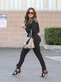 Khloe Kardashian is seen in Los Angeles on October 06 2014 in Los Angeles California