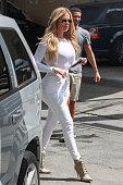 Khloe Kardashian is seen on September 01 2015 in Los Angeles California