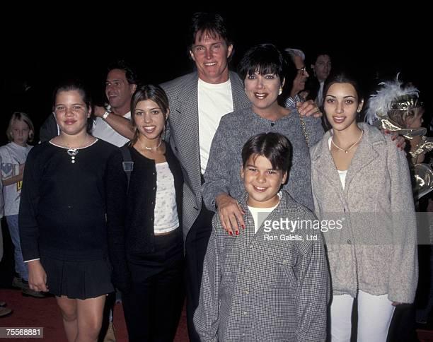 Khloe Kardashian Kourtney Kardashian Bruce Jenner Kris Kardashian Robert Kardashian and Kim Kardashian