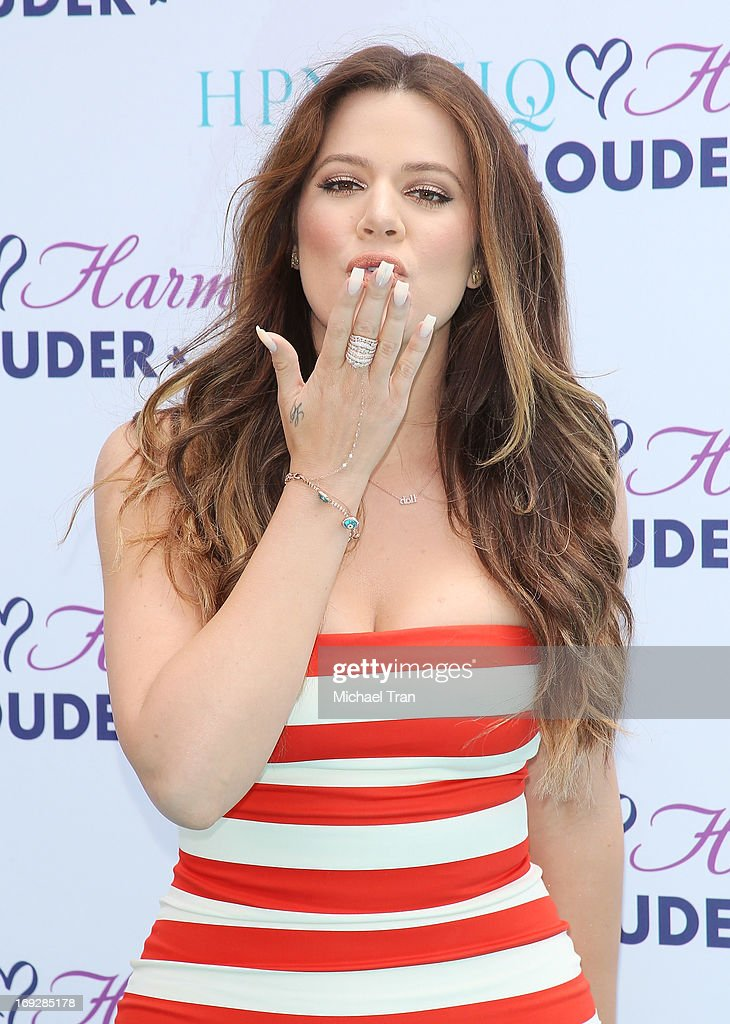 Khloe Kardashian Odom attends the HPNOTIQ Glam Louder Program launch event held at Mr. C Beverly Hills on May 22, 2013 in Beverly Hills, California.