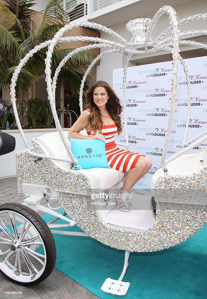 <a gi-track='captionPersonalityLinkClicked' href=/galleries/search?phrase=Khloe+Kardashian&family=editorial&specificpeople=3955023 ng-click='$event.stopPropagation()'>Khloe Kardashian</a> Odom attends the HPNOTIQ Glam Louder Program launch event held at Mr. C Beverly Hills on May 22, 2013 in Beverly Hills, California.