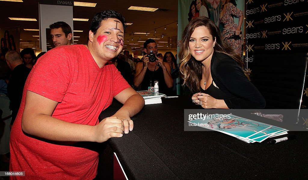 <a gi-track='captionPersonalityLinkClicked' href=/galleries/search?phrase=Khloe+Kardashian&family=editorial&specificpeople=3955023 ng-click='$event.stopPropagation()'>Khloe Kardashian</a> Odom greet fans during a Sears In-Store Appearance For Kardashian Kollection at Willowbrook Mall on May 4, 2013 in Houston, Texas.