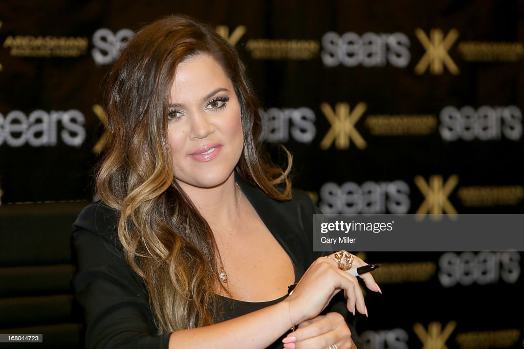 <a gi-track='captionPersonalityLinkClicked' href=/galleries/search?phrase=Khloe+Kardashian&family=editorial&specificpeople=3955023 ng-click='$event.stopPropagation()'>Khloe Kardashian</a> Odom meets fans and signs autographs at Sears to promote the 'Spring 2013 Kardashian Kollection' on May 4, 2013 in Houston, Texas.