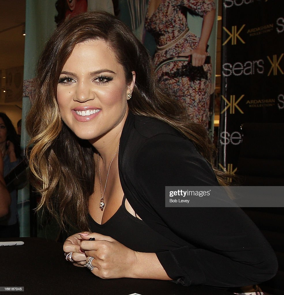 Khloe Kardashian Odom signs autographs for fans during a Sears In-Store Appearance For Kardashian Kollection at Willowbrook Mall on May 4, 2013 in Houston, Texas.
