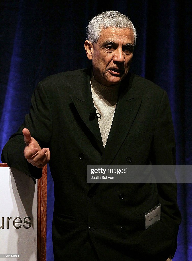 Khosla Ventures founder Vinod Khosla speaks during the Khosla Ventures Cleantech Discussion May 24, 2010 in Sausalito, California. Khosla Ventures founder Vinod Khosla announced today that Tony Blair Associates will serve as special advisors to Khosla Ventures to advocate for environmental issues and use their global relationships to assist Khosla's broad portfolio of clean technology companies maximize their effectiveness in achieving their environmental goals.