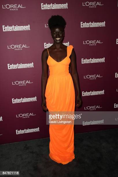 Khoudia Diop attends the Entertainment Weekly's 2017 PreEmmy Party at the Sunset Tower Hotel on September 15 2017 in West Hollywood California