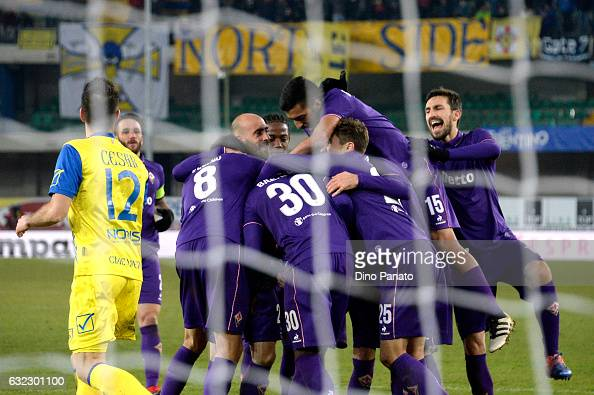 AC ChievoVerona v ACF Fiorentina - Serie A : News Photo