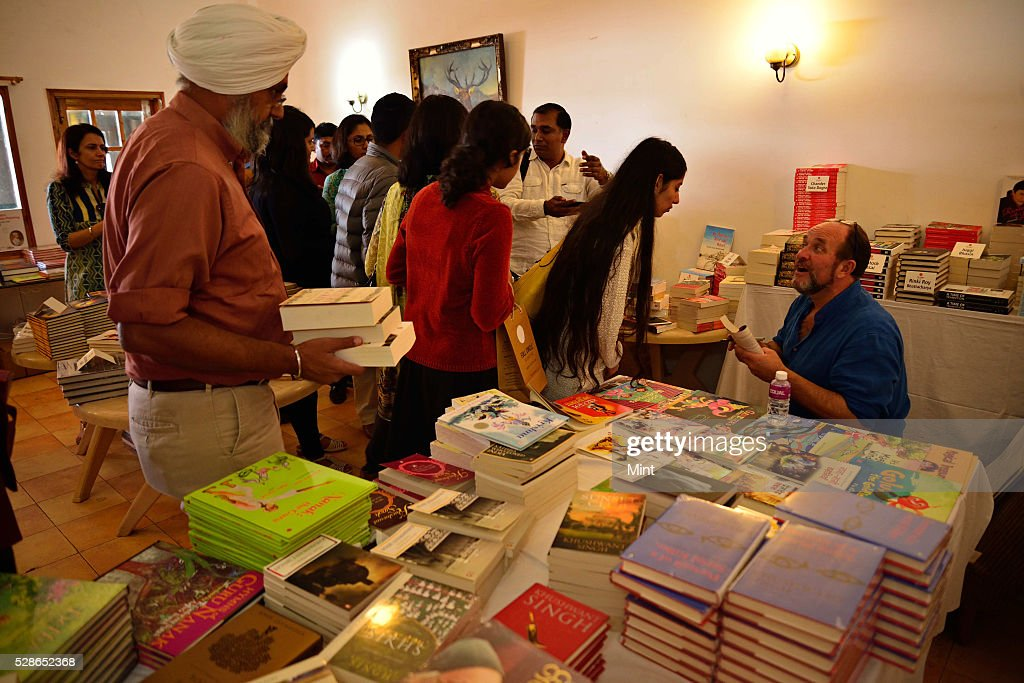 Khushwant Singh Literary Festival 2015 at the Kasauli Club, Kasauli, on October 10, 2015 in Himachal Pradesh, India.