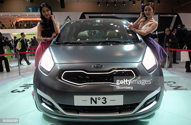 Kia Motors Corp Stock Photos And Pictures Getty Images