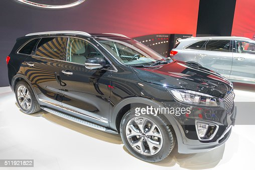 kia sorento stock photos and pictures getty images. Black Bedroom Furniture Sets. Home Design Ideas