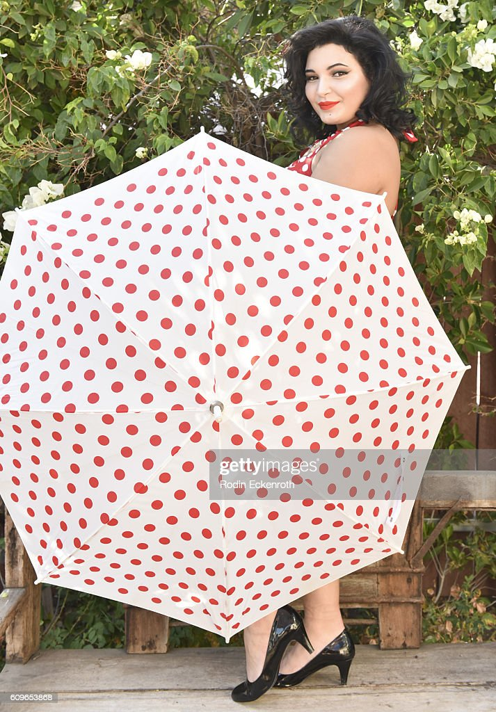 Kiana Lyz Rivera poses for portrait at The Starving Artists Project on September 21, 2016 in Los Angeles, California.