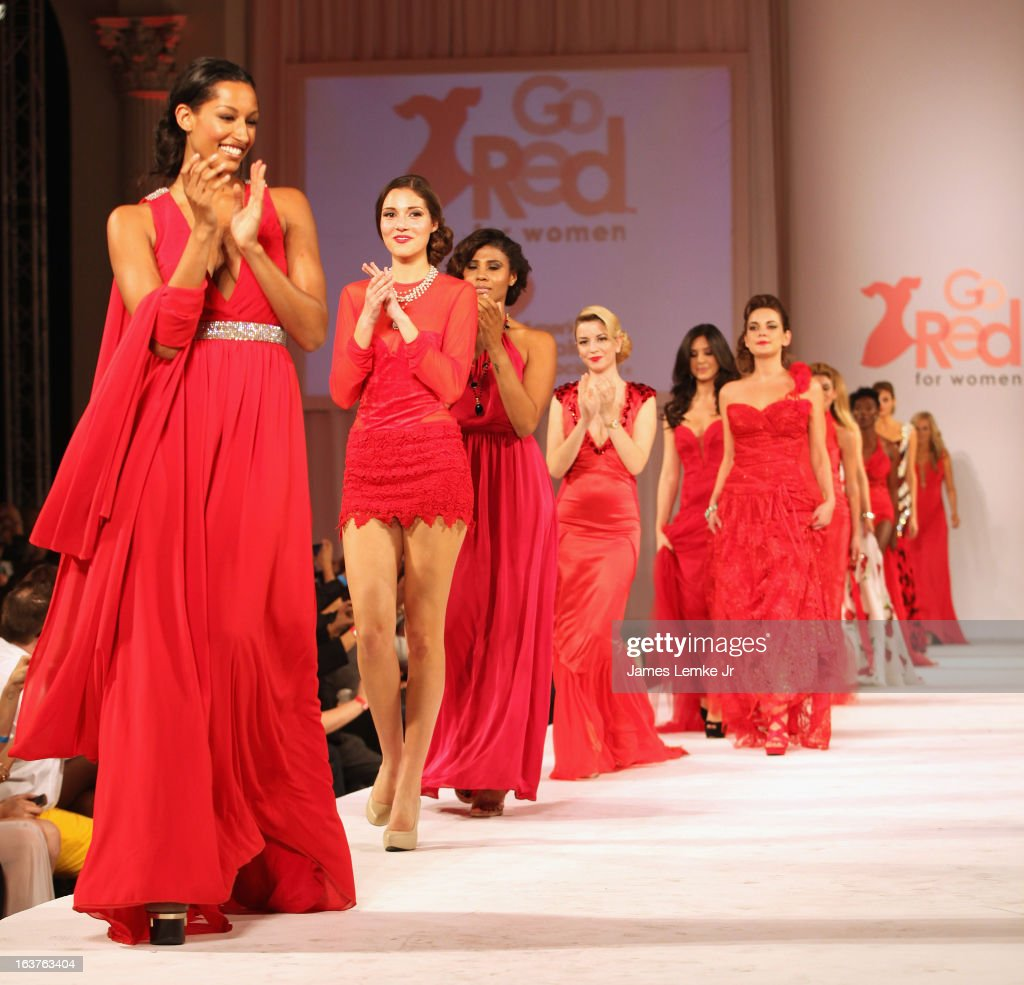 Kiara Belen attends the 2013 Los Angeles Fashion Week - Go Red For Women Red Dress Fashion Show held at the Vibiana on March 14, 2013 in Los Angeles, California.