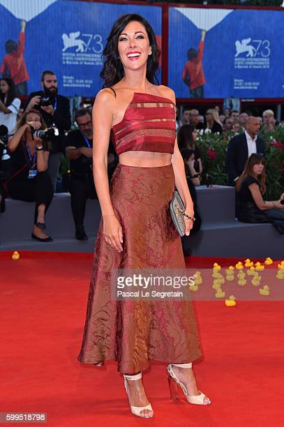 Kiara Tomaselli attends the premiere of 'Piuma' during the 73rd Venice Film Festival at Sala Grande on September 5 2016 in Venice Italy