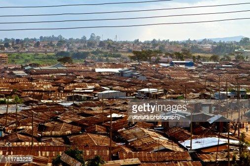 Kibera : Stock Photo