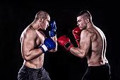 Kick box before a fight