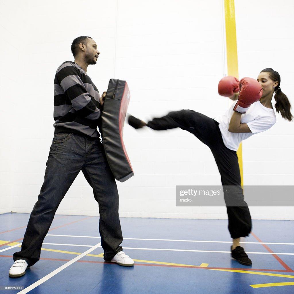 kick boxing : Stock Photo