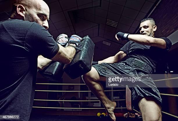 kick entraînement boxe