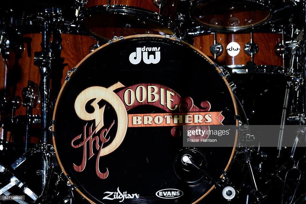 A kick drum is seen onstage during 2016 Stagecoach California's Country Music Festival at Empire Polo Club on May 01, 2016 in Indio, California.
