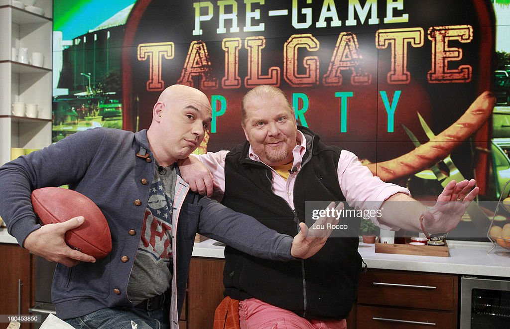 THE CHEW - Kick off the big game with a Pre-Game Tailgate Party at The Chew today, January 31, 2013. 'The Chew.' 'The Chew' airs MONDAY - FRIDAY (1-2pm, ET) on the ABC Television Network. BATALI
