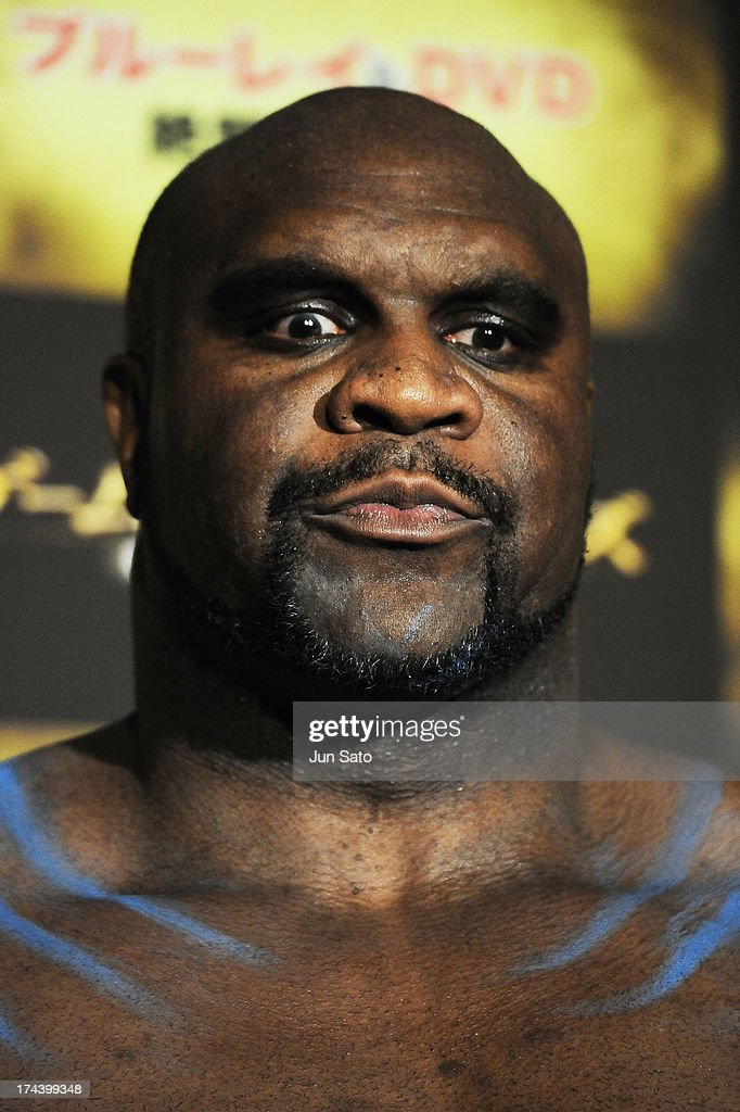 Kickboxer and actor Bob Sapp attends the 'Game of Thrones' stage greeting at Toho Cinemas Roppongi Hills on July 25, 2013 in Tokyo, Japan.