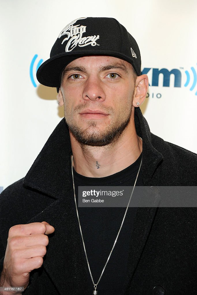Kickboxer Joe Schilling visits SiriusXM Studios on November 21, 2013 in New York City.