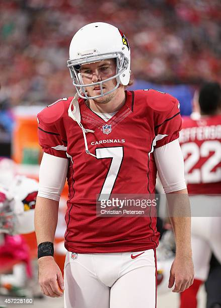 Kicker Chandler Catanzaro of the Arizona Cardinals during the NFL game against the Washington Redskins at the University of Phoenix Stadium on...