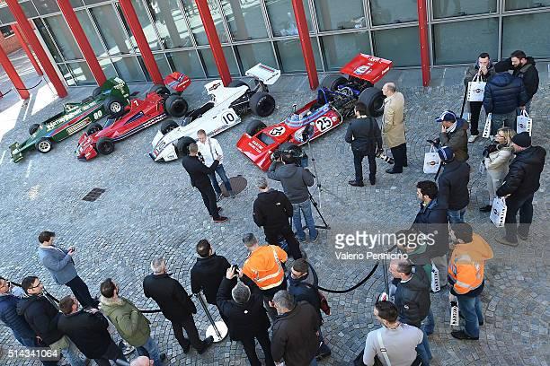 MARTINI kicks off the 2016 race season with Felipe Massa and Valteri Bottas FW38 car revealed alongside rare MARTINI Racing car collection in advance...