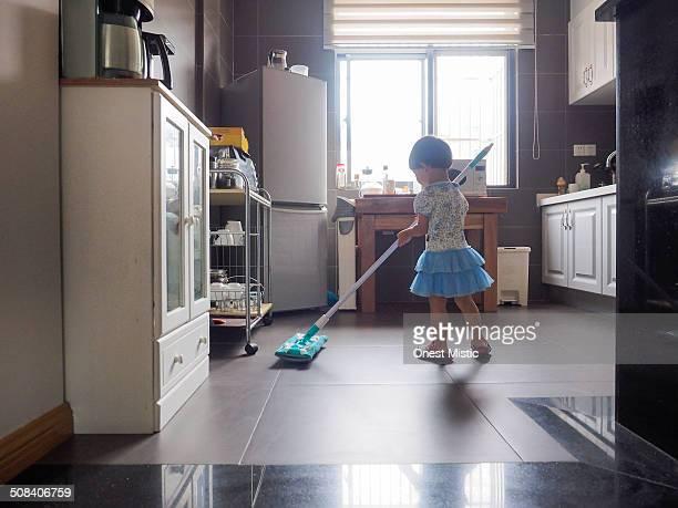 kid at home