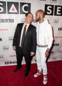 Kid Capri and Swizz Beatz attends 2013 SESAC Pop Music Awards at New York Public Library on May 13 2013 in New York City
