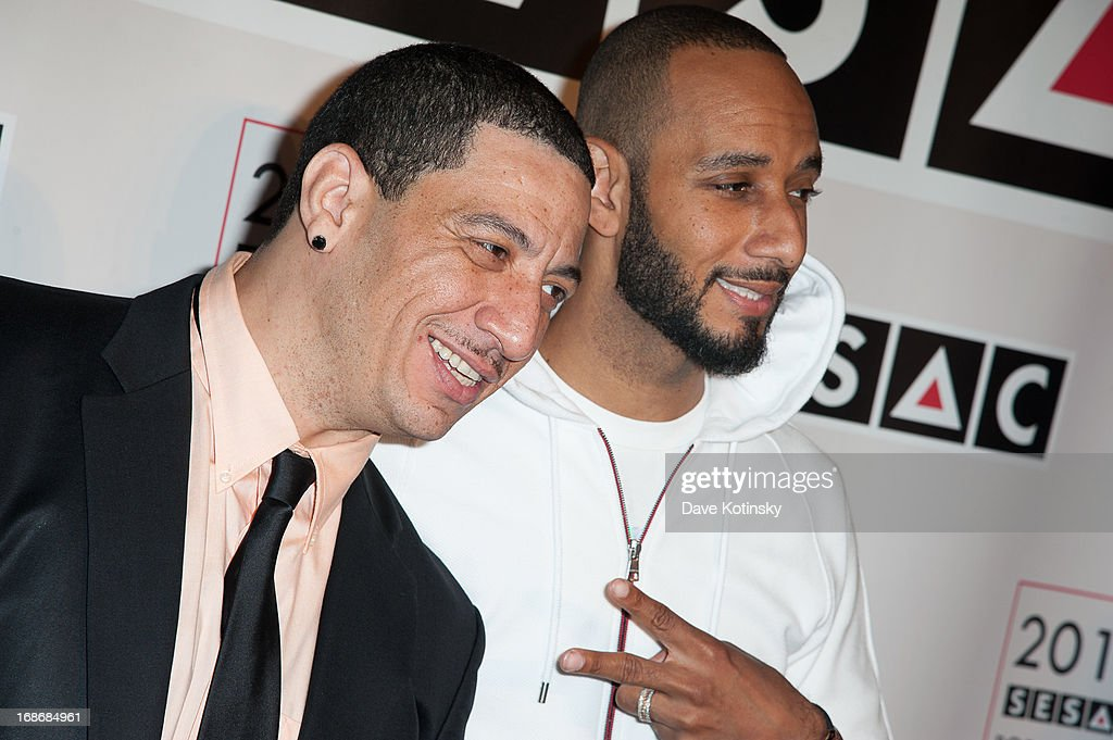 <a gi-track='captionPersonalityLinkClicked' href=/galleries/search?phrase=Kid+Capri&family=editorial&specificpeople=577470 ng-click='$event.stopPropagation()'>Kid Capri</a> and <a gi-track='captionPersonalityLinkClicked' href=/galleries/search?phrase=Swizz+Beatz&family=editorial&specificpeople=567154 ng-click='$event.stopPropagation()'>Swizz Beatz</a> attends 2013 SESAC Pop Music Awards at New York Public Library on May 13, 2013 in New York City.