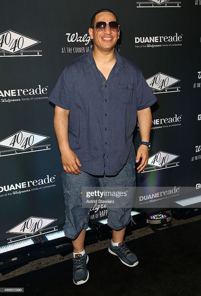<a gi-track='captionPersonalityLinkClicked' href=/galleries/search?phrase=Kid+Capri&family=editorial&specificpeople=577470 ng-click='$event.stopPropagation()'>Kid Capri</a> attends the Go N'Syde 40/40 Bottle Launch Party at the 40 / 40 Club on June 12, 2014 in New York City.