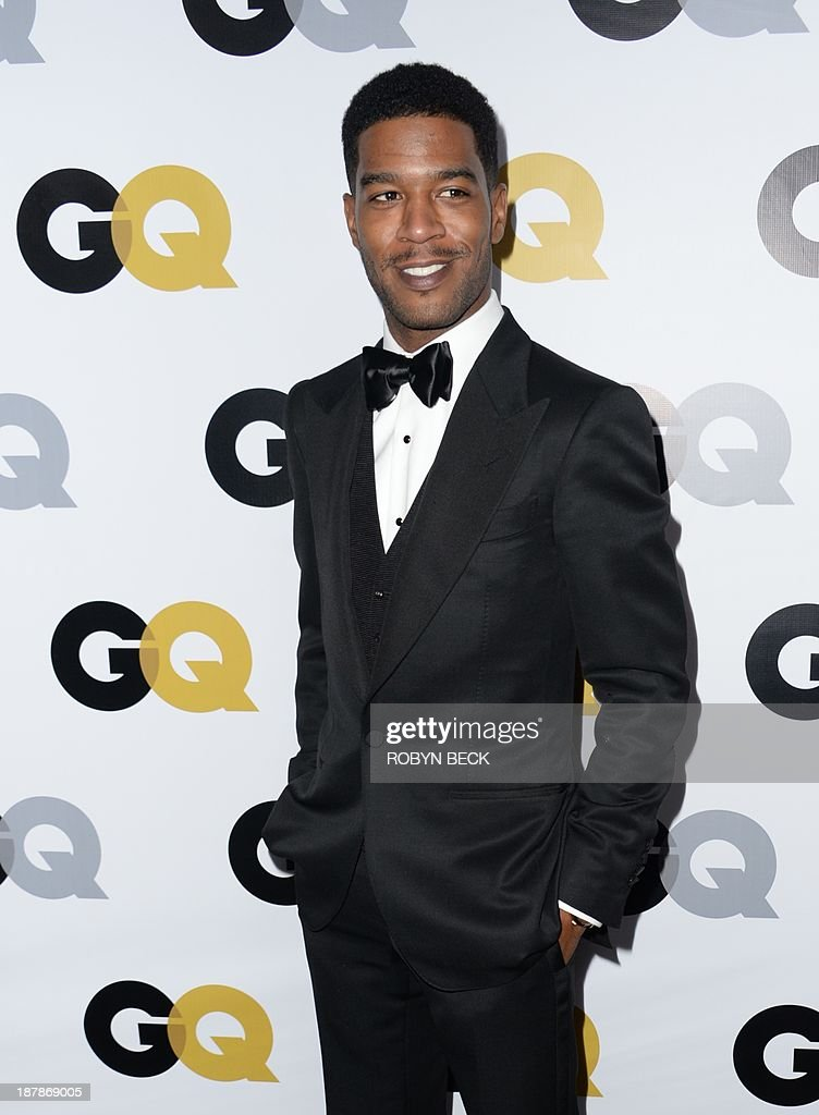 Kid Cudi arrives for the 18th annual GQ Men of the Year Party at the Ebell of Los Angeles, November 12, 2013 in Los Angeles, California.
