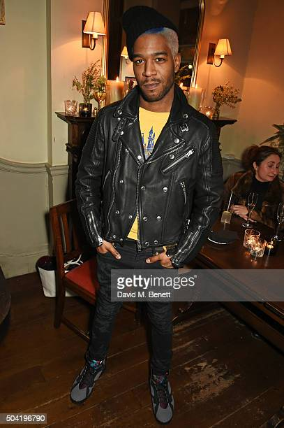 Kid Cudi attends COACH Men's Fall/Winter 2016 Party hosted by Stuart Vevers at The Lady Ottoline on January 9 2016 in London England