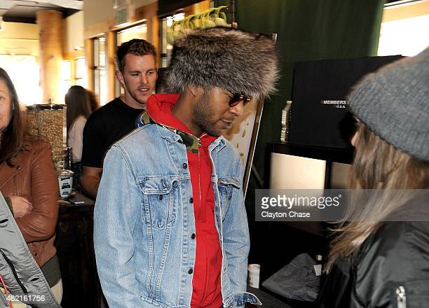 Kid Cudi attends Music Lodge Hosts MTV Interview Studio Day 2 on January 25 2015 in Park City Utah