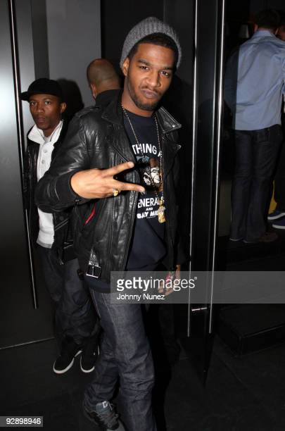 Kid Cudi attends the New York Yankees Victory Party at the 40 / 40 Club on November 6 2009 in New York City