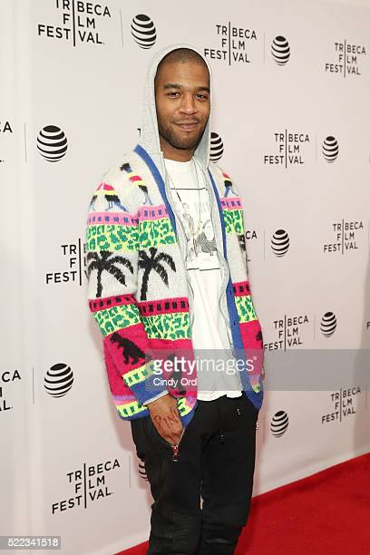Kid Cudi attends the 'Vincent N Roxxy' Premiere during the 2016 Tribeca Film Festival at Chelsea Bow Tie Cinemas on April 18 2016 in New York City