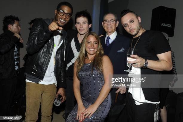Kid Cudi Chris Wallace Michelle Edgar Jerry Tokofsky and Justin Furstenfeld attend MUSIC UNITES AND UNIVERSAL MOTOWN Present BLUE OCTOBER and...