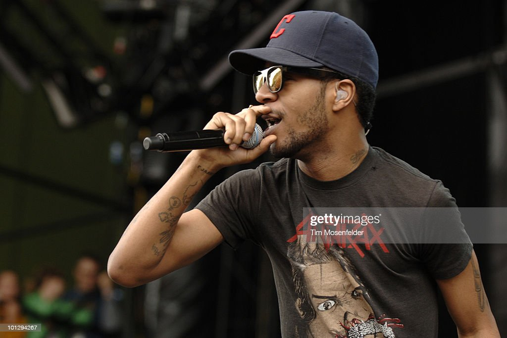Kid Cudi performs as part of the Sasquatch Music Festival at the Gorge Amphitheatre on May 30, 2010 in George, Washington.