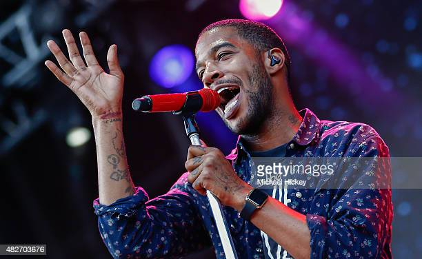 Kid Cudi performs at 2015 Lollapalooza at Grant Park on August 1 2015 in Chicago Illinois